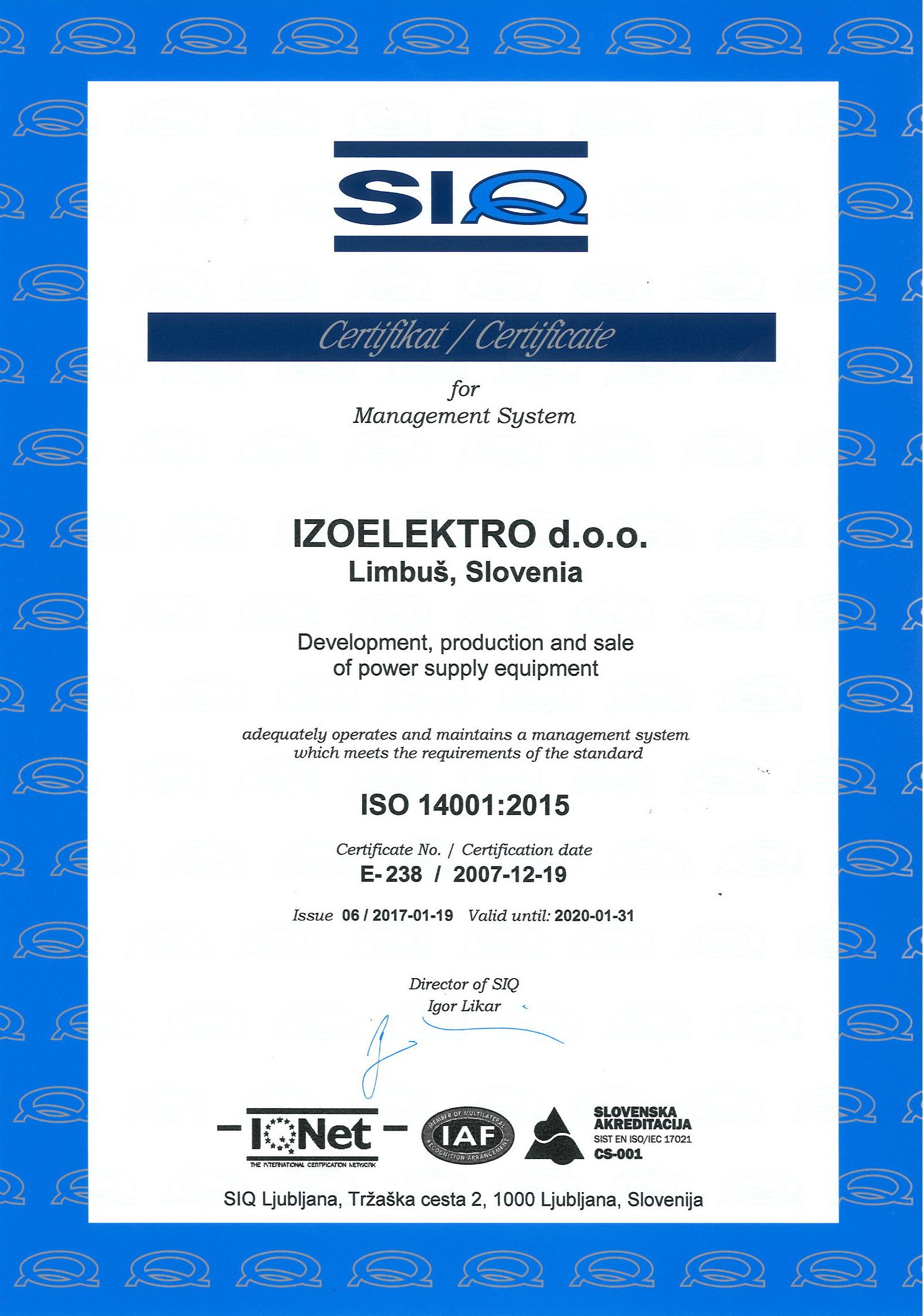 Izoelektro products certification xflitez Images